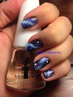 Katja's Blogecke: Nageldesign Galaxy