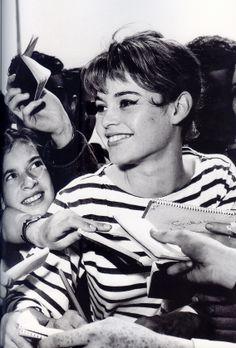 Brigitte Bardot at the 1956 Cannes Film Festival.