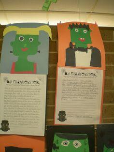 Third Grade Love- My Frankenstein creative writing