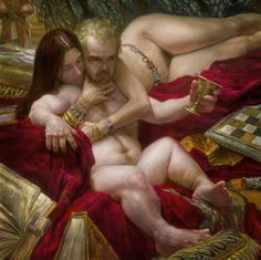 Donato Giancola- Tyrion and Shae