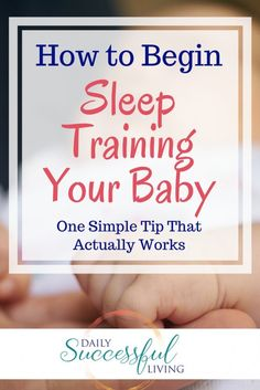 Sleep training is a very sensative subject. Letting a baby cry it out is difficult for most parents. I found that one simple trick made sleep training a relatively painless process. Gentle No, Cry sleep training can be done.