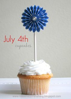 Fun cupcakes for the 4th!