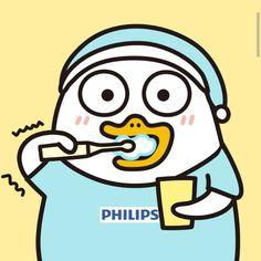 Cartoon Pics, Cute Cartoon, Ducky Duck, Kakao Friends, Troll Face, Little Duck, Cute Wallpapers, Aesthetic Anime, Emoji