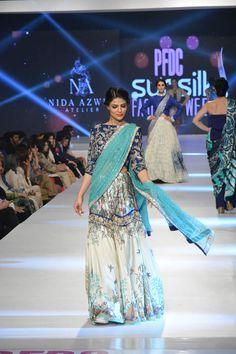 Nida Azwer PFDC Sunsilk Fashion Week collection 2015 Images
