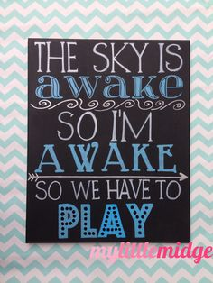 The Sky is Awake ORIGINAL design Frozen inspired by mylittlemidge, $37.00