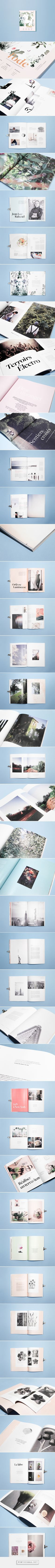 l'ode magazine - diptyque on Behance                                                                                                                                                                                 More