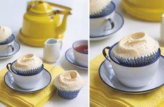 hummingbird earl grey tea cupcakes