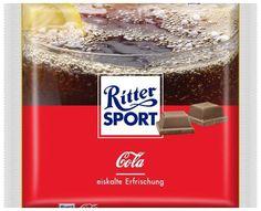 RITTER SPORT Fake Schokolade Sorte Cola