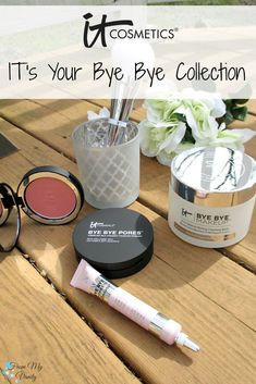 This collection has me saying 'bye bye' to all my pore problems!   New IT Cosmetics QVC TSV, IT's Your Bye Bye Collection!
