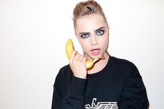 Terry Richardson, fashion photographer to the stars, takes to his NSFW Tumblr diary to post pictures of the celebs he features, like model Cara Delevingne, seen here during New York Fashion Week in 2013. Source: Tumblr user Terry Richardson