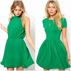 Nice dress...