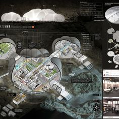 Volume Zero announces winners of the 2018 Marsception Competition Arcade Architecture, Space Architecture, Station Map, Space Station, Space Exploration Technologies, Mars Project, Human Base, Hard Science Fiction, Sci Fi City