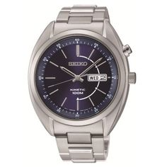 Seiko Kinetic Watches Men is one variant of Seiko watches for men. Get the best collection of Seiko Kinetic Watches Men here and complete your activities with Seiko watches are elegant. Pre Owned Watches, Watches For Men, Wrist Watches, Stainless Steel Watch, Stainless Steel Bracelet, Brand Name Watches, Seiko Men, Luxury Watch Brands, Online Watch Store
