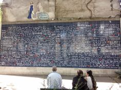 Je t'aime in all languages of the world - Montmartre, Paris