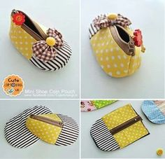 Porte monnaie chaussure bébé