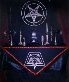Black Metal Altar