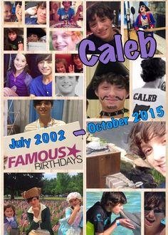 Caleb Logan Bratayley July 2002- October 2015 #teamcaleb #standstrong #purple4Caleb
