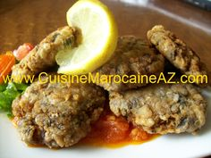 Croquettes de sardine - كويرات السردين - La cuisine marocaine de A à Z - المطبخ المغربي من أ إلى ي