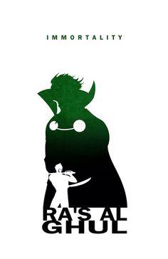 Ra's Al Ghul - Immortality by Steve Garcia