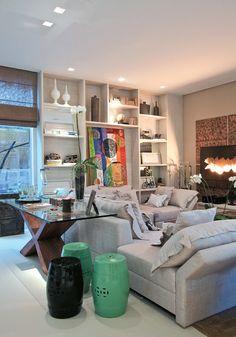 Casa Cor 2011: Ambiente criando por Jóia Bergamo, designer de interiores, de São Paulo.