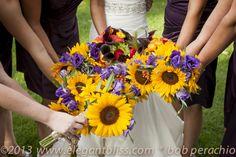 sunflower bouquets Sunflower Centerpieces, Sunflower Bouquets, Cape Cod Wedding, Wedding Flowers, Table Decorations, Sunflower Floral Arrangements, Dinner Table Decorations, Bridal Flowers