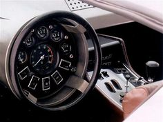 Maserati Boomerang. Craziest interior I've ever seen.