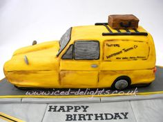 Only Fools and Horses cake Del Boy Van designed by www.iced-dlights.co.uk