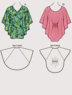 Шитье для каждого: Блузы и туники