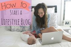 How to start a lifestyle blog. Learn how to start a lifestyle blog in under half an hour! Get started on your blogging journey today!