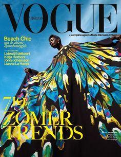 Über Fashion Marketing: Über-Curti: A capa de julho da Vogue Nederland