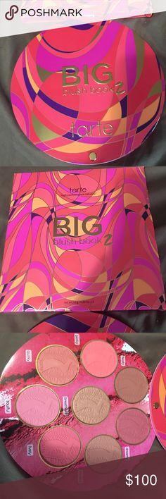 Tarte Big Blush Book 2 Brand new in box Makeup Blush