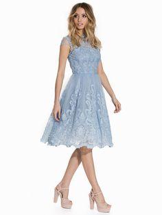 Rhiannon Dress - Chi Chi London - Blue - Festklänningar - Kläder - Kvinna - Nelly.com
