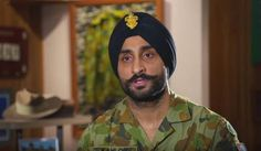 Australian army sikh soldier.