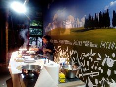 Mugello showcooking at Expo Milano 2015 #expo2015 #mugello #toscana