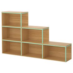 IKEA PS 2014 Storage combination with top - bamboo/light green - IKEA - $255