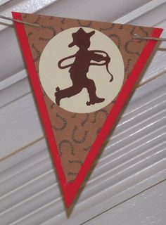 Western / Cowboy Themed Happy Birthday  Banner by APaperPlayground, $23.50