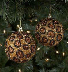 112 best LEOPARD CHRISTMAS images on Pinterest | Animal prints ...
