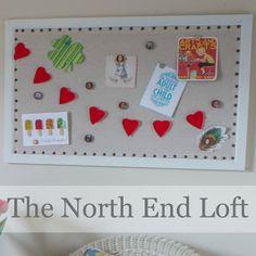 The North End Loft: Bulletin Board Remake