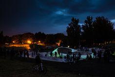 liverpool glow in dark skatepark - Google Search