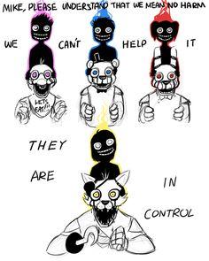 The machines are innocent... #FiveNightsatFreddys