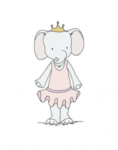 Hey, I found this really awesome Etsy listing at https://www.etsy.com/listing/182320799/elephant-nursery-art-elephant-princess