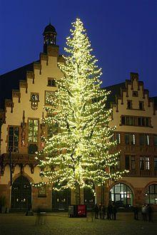 Weihnachtsbaum – Frankfurt