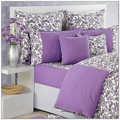 Luxury Bedding Sets On Sale Purple Bed Covers, Bedroom Furniture, Bedroom Decor, Bedroom Ideas, Kids Single Beds, Designer Bed Sheets, Purple Bedding, Woman Bedroom, Bedroom Layouts