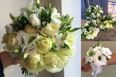wedding flowers and decorations from eustoms, roses and hypericum / svatební kytice a dekorace z eustom, růží a hyperica.