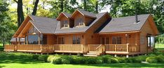 Smithouse - Home House In Nature, House In The Woods, Cabin Plans, House Plans, Log Cabin Homes, Wooden House, Stone Houses, Tropical Houses, Home Projects