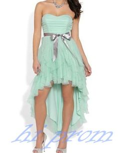 Tulle Homecoming Dress,High Low Homecoming Dresses,Mint Homecoming Gowns,Champagne Prom Dress,Tulle Prom Dresses,Ruffled Sweet 16 Dress,Plus Size Evening Dresses For Teens