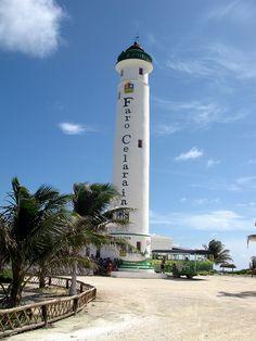 Faro Celarain, Punta Sur Park, Cozumel, Mexico