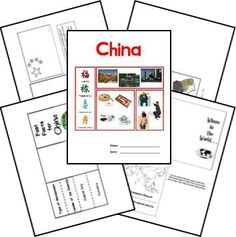Here's a free lapbook with reproducibles about ancient and modern China. - Vocab, What Time is it in Beijing, Writing and Using Abacus, Bar Graph of Population, Modern China Teaching Geography, World Geography, Teaching Kids, The Story About Ping, China For Kids, Asian Studies, Chinese New Year Crafts, Study History, Story Of The World