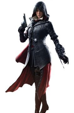 "I got Evie Frye from ""Assassin's Creed: Syndicate""! Which ""Assassin's Creed""… Assassins Creed Cosplay, Assassins Creed Female, Assassins Creed Syndicate Evie, Assassin Costume, Rogue Assassin, Skyrim Cosplay, Asesins Creed, All Assassin's Creed, Character Art"