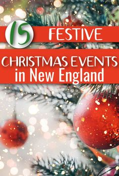 Come make Christmas memories at one of 15 Christmas events in New England. You will love seeing Rockwells Christmas painting come to life, to walk through a Christmas village, and much more. Christmas in New England Christmas Events, Christmas Travel, Christmas Fun, Christmas Bulbs, Christmas Destinations, New England Travel, Christmas Paintings, Christmas Activities, Holiday Decor